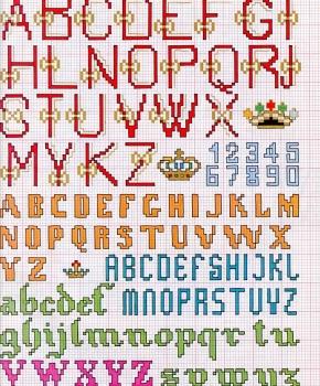 alfabeto vittoriano