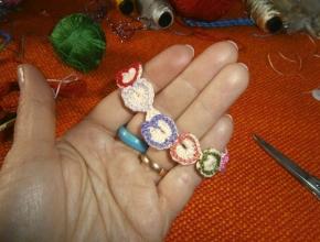 braccialetto colorato finito