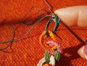 lavorare la maglia bassa