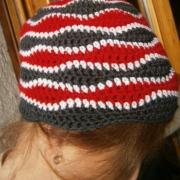 Cappellino indossato