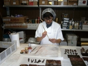Dipingere il cioccolato