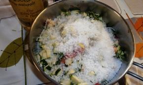 Verdure con sale grosso