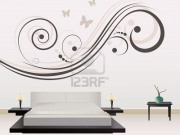 Wall sticker camera da letto