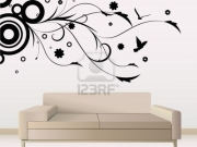 Wall sticker salotto