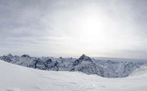 Panorama dal Glacier