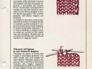 Chiusura del lavoro a maglia