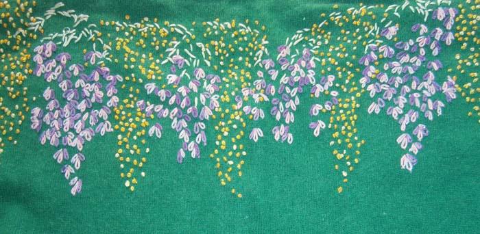 Dietro della maglia con le mimose