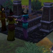 Le streghe sim al cimitero
