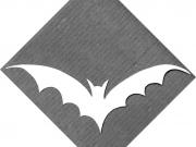 Cartamodello collana a pipistrello