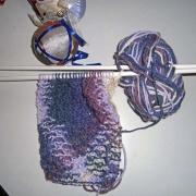 Lavorazione maglia riso doppia