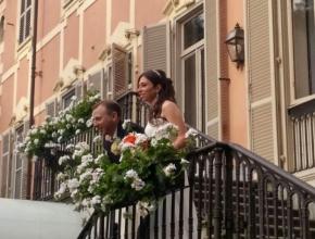 la balconata di villa Sassi