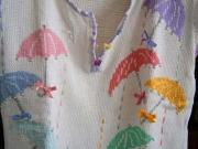 Maglietta ricamata