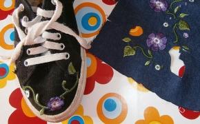 progetto di recupero scarpe tennis