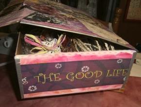 Un fianco della scatola