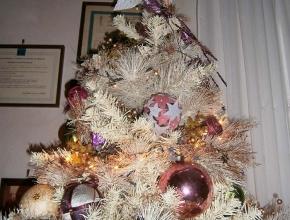 La punta dell'albero panna