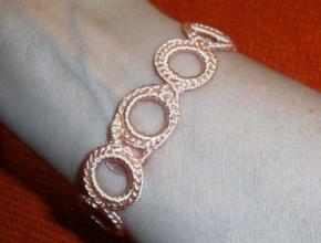 La chiusura del braccialetto