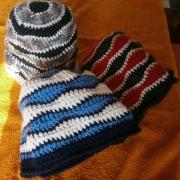 Cappellini all'uncinetto