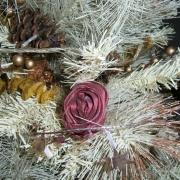 Rosa satin rosa antico
