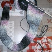 lavoro a maglia rasata