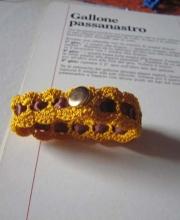 Braccialetto oro chiusura