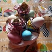 Rose di carta e uova