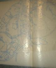 Il disegno su carta trasparente