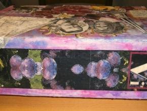 Il retro della scatola