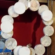 corona dischi di polistirolo