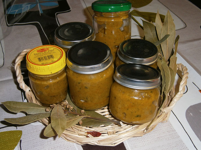 Vasetti di dado vegetale