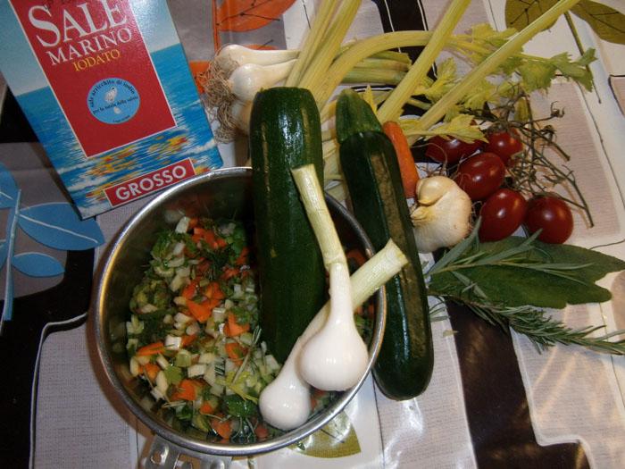 Verdure e aromi