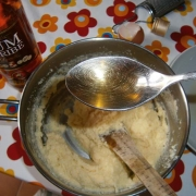 1 cucchiaio di rhum nel semolino
