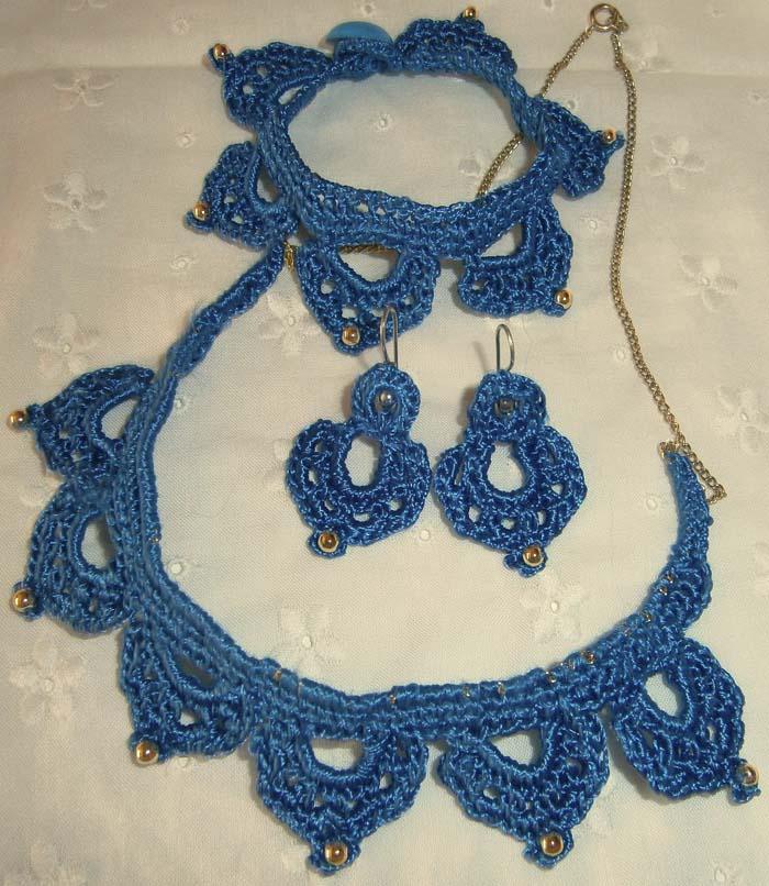 Parure blu Aladino