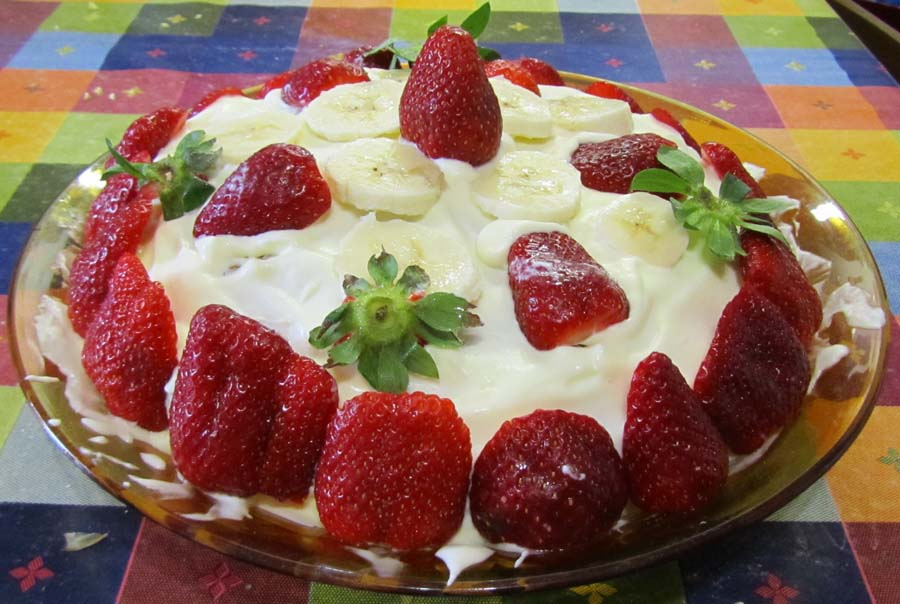 Torta di fragole glutenfree