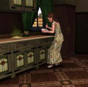 Amalia in cucina