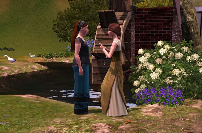 Amalia avvisò con Agnese