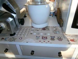 Stola per piano cucina
