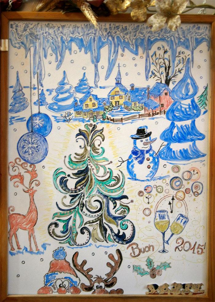 La lavagna di Natale 2014