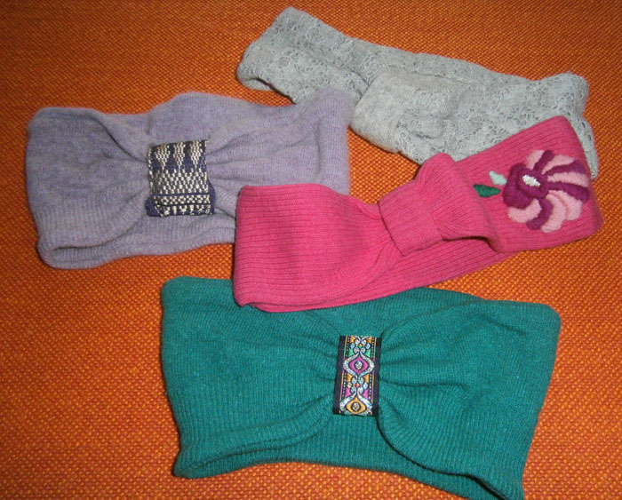 Fasce di lana riciclata