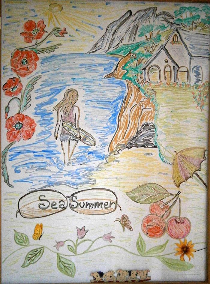 My sea summer